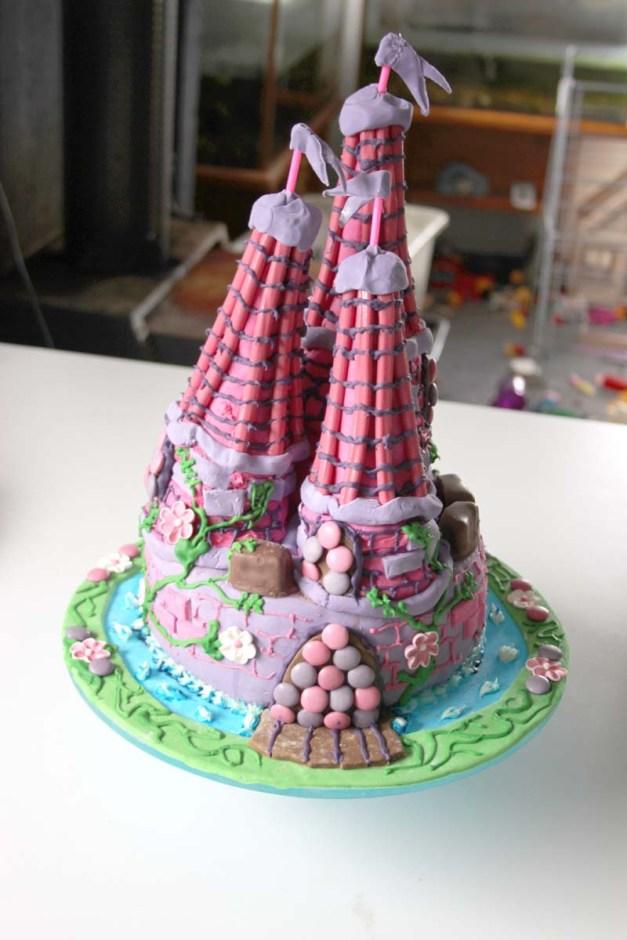 Castle Cake 1