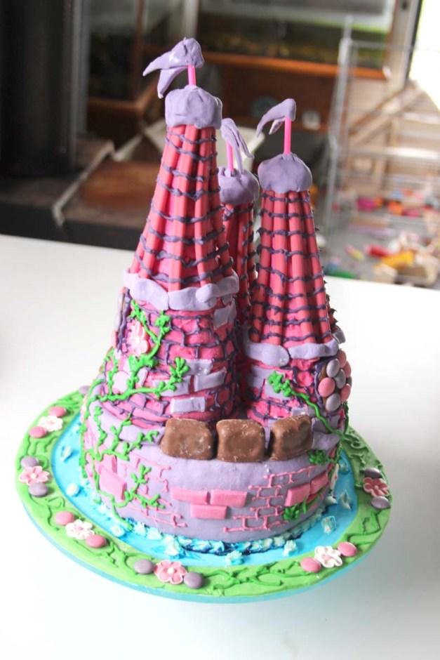 Castle Cake 3
