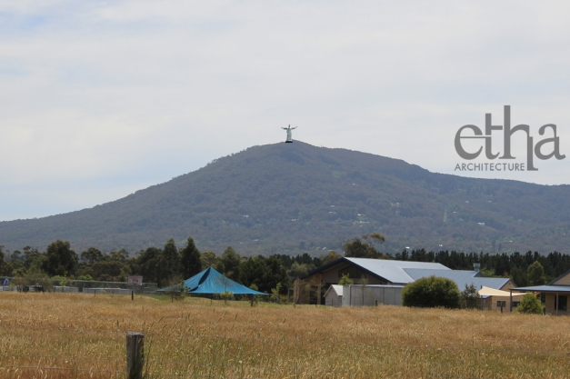 Christ the Redeemer relocated to Mount Macedon Australia
