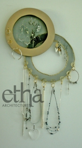 2 x Circles Jewellery Display