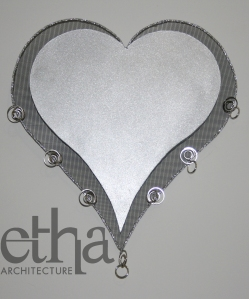 Heart Jewellery Display