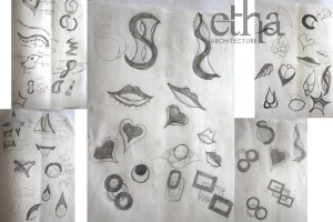 Jewellery Display Design Sketches