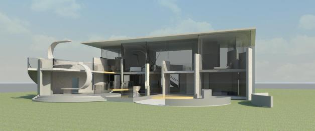 New Gisborne House- External Perspective