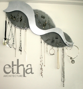 Organic Shape Jewellery Display