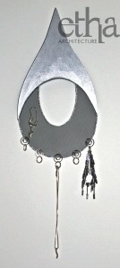 Tear Drop Jewellery Display