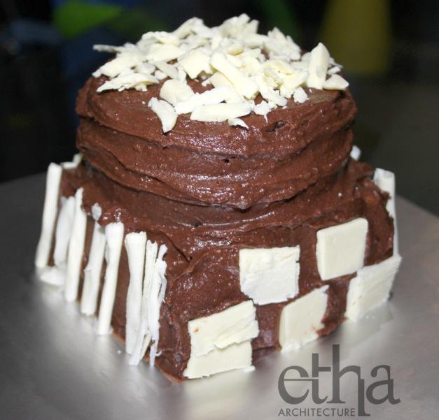 Baileys Chocolate Anniversary Cake