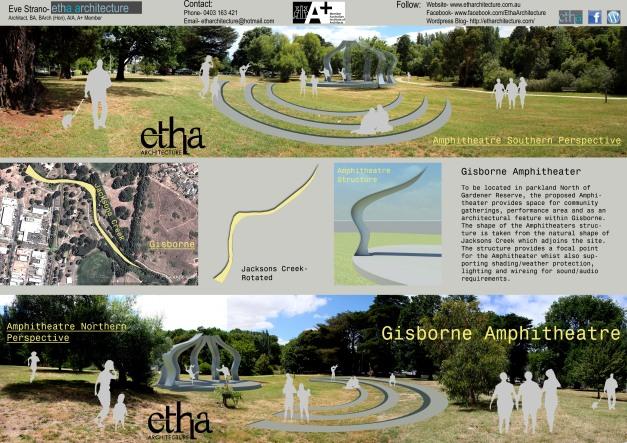Gisborne Amphitheatre Presentation Sheet 1