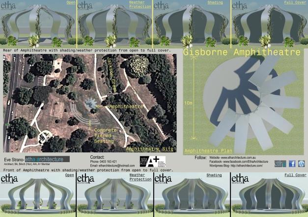 Gisborne Amphitheatre Presentation Sheet 2