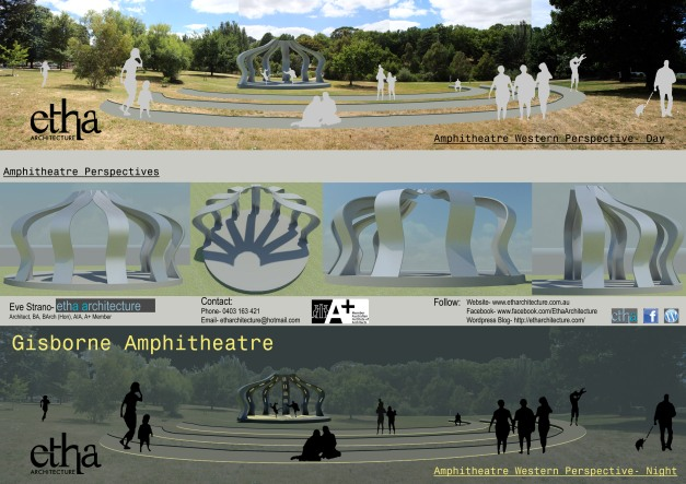 Gisborne Amphitheatre Presentation Sheet 3